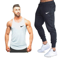 Men tank top+Pants