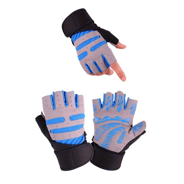Half Finger WeightLifting Gloves