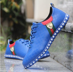 Sycatree Male Leather Running Shoes