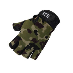 nti-skid Half Finger Gym Gloves