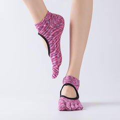 Non-Slip Cotton Massage Yoga Socks