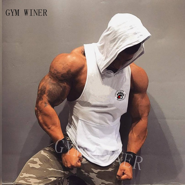 New Men Bodybuilding Tank Tops