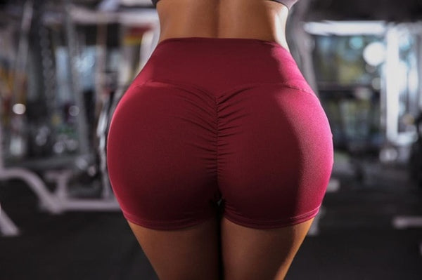 High Waist Hip Lifting Shorts