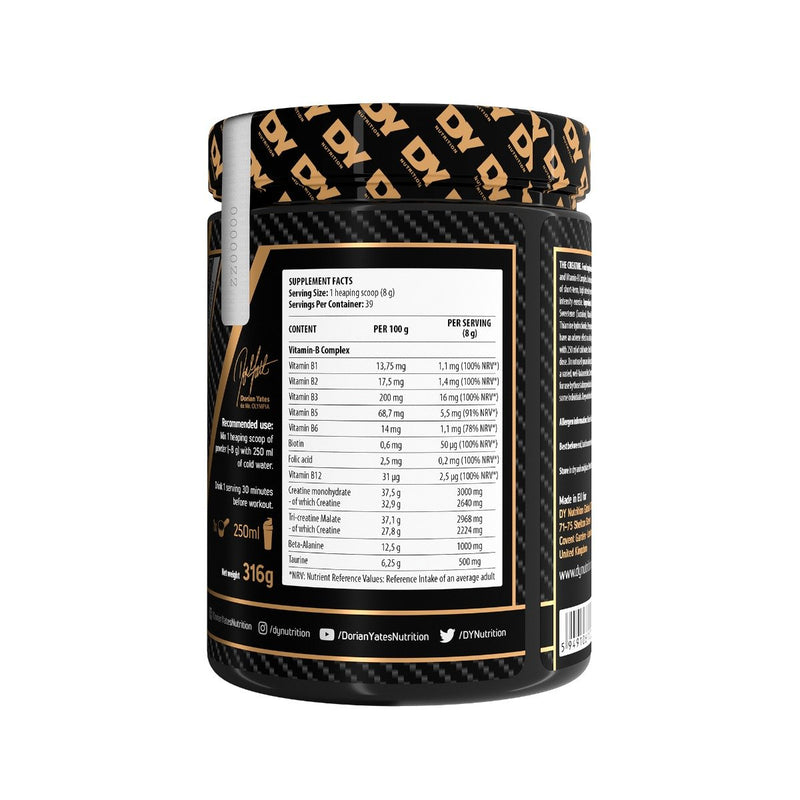 The Creatine 316g, 40 Servings