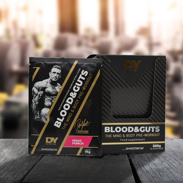 Pre-Workout Blood and Guts Sachets
