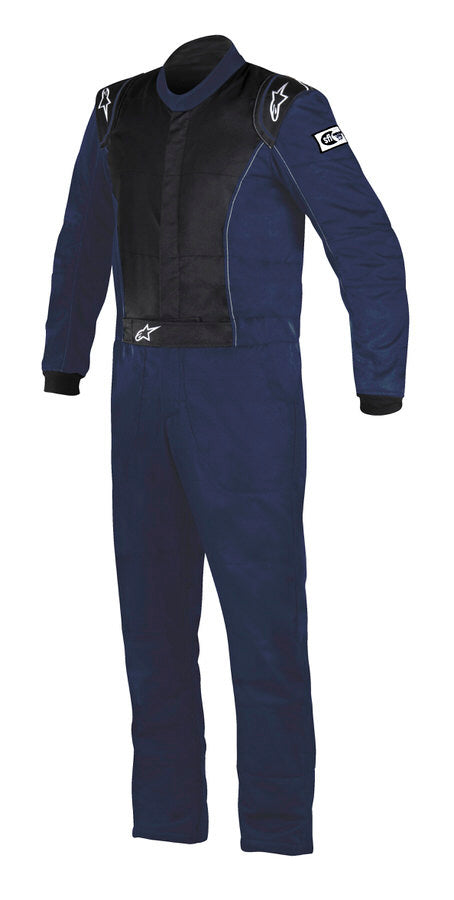 Knoxville Driving Suit Blue X- Small
