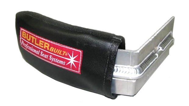 Butlerbuilt Head Support LH 4in Black w/ Support Rod