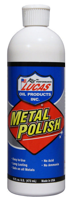 Metal Polish 16oz Lucas
