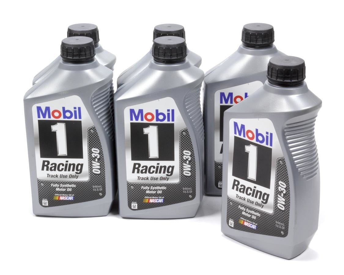 0W30 Racing Oil Case 6x1 Qt- Mobil Motor Oil