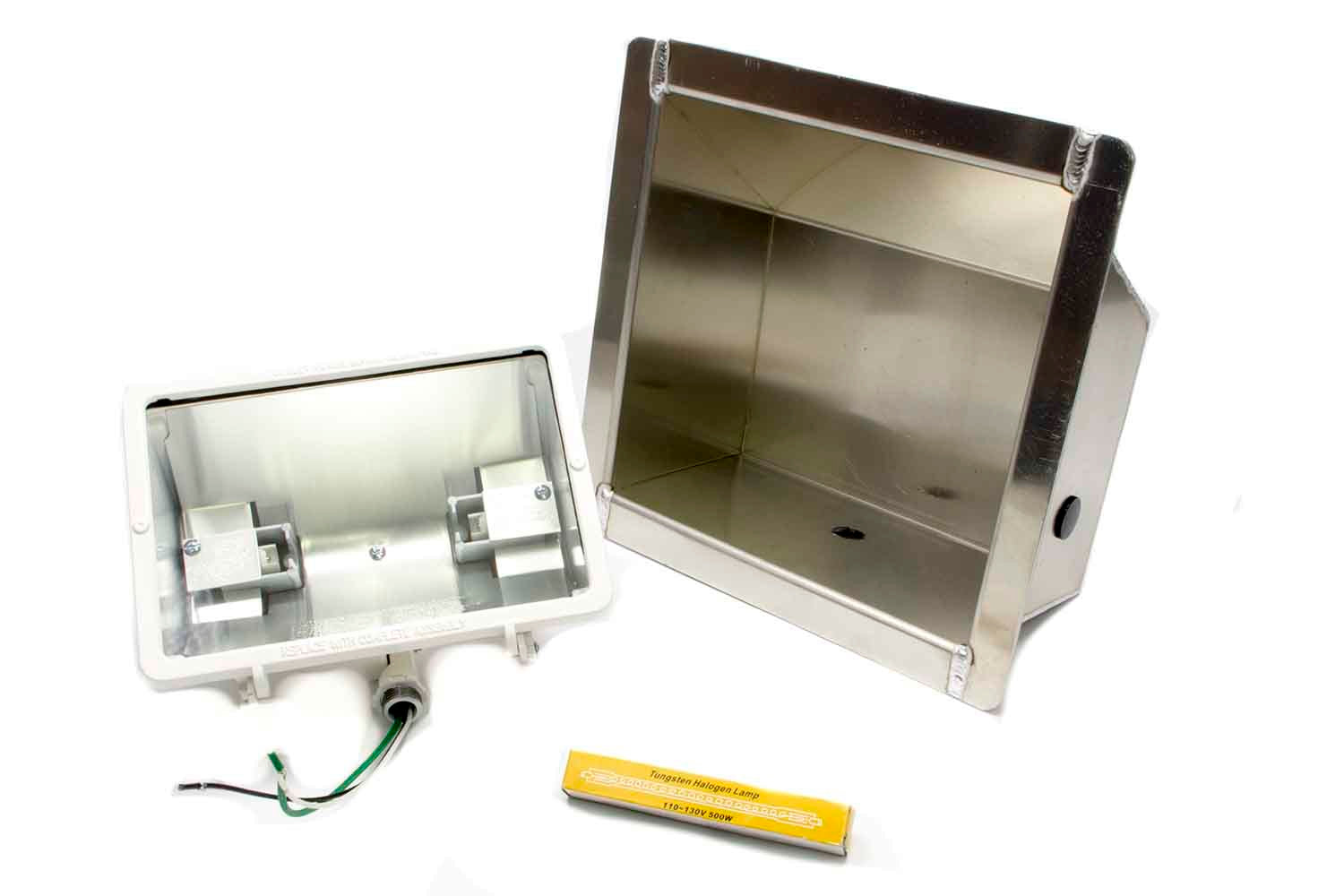Trailer Light Recessed Bucket 500w Halogen