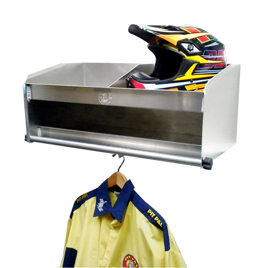 Pit-Pal 2 Bay Helmet Shelf Delux