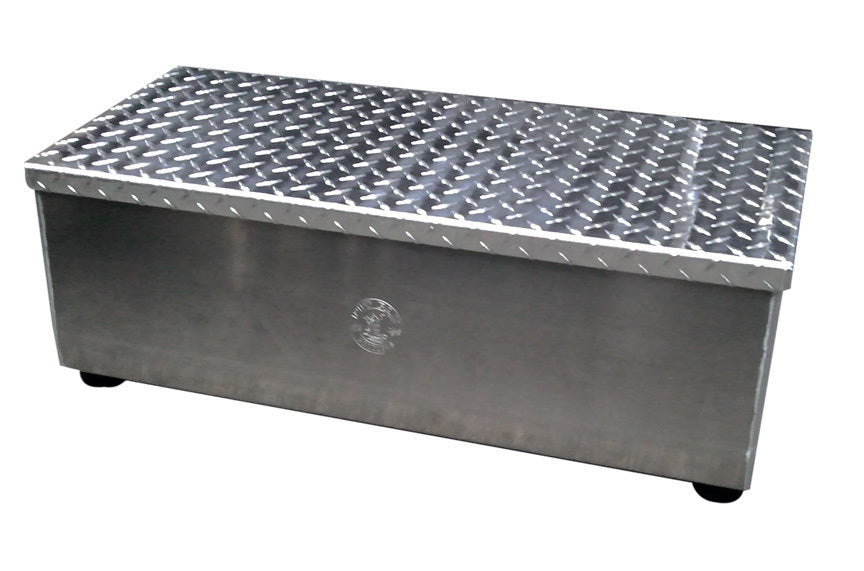 Portable Aluminum Step 30inW 10inH 12inW