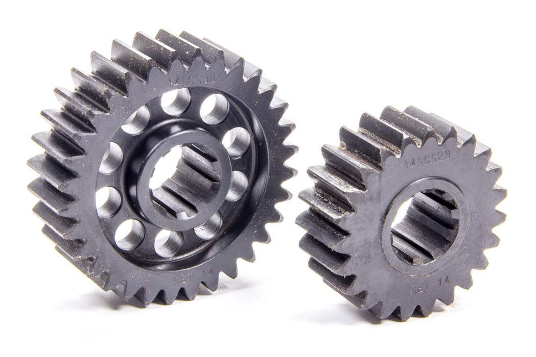 SCS Quick Change Gear Set 14 10 Spline