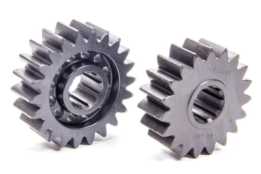 SCS Quick Change Gear Set 17 10 Spline