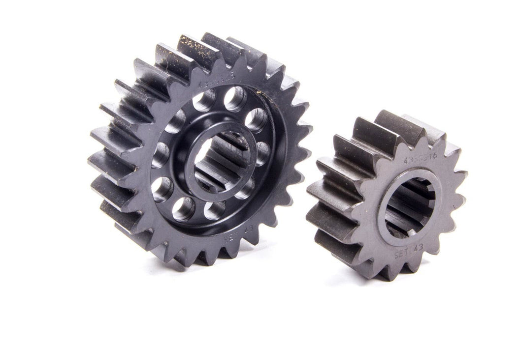 SCS Quick Change Gear Set 43 10 Spline