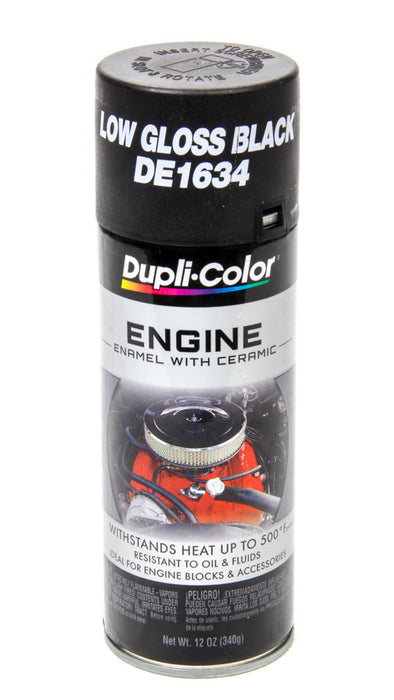 GM Low Gloss Black Engine Paint 12oz