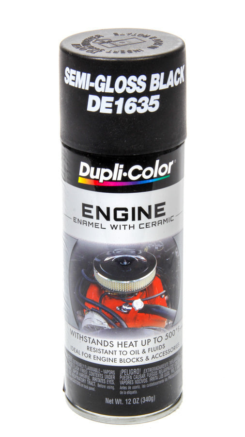 Ford Semi Gloss Black Engine Paint 12oz