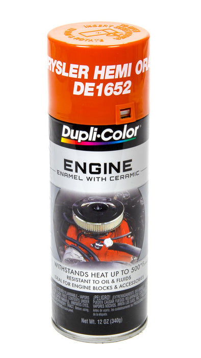 Hemi Orange Engine Paint 12oz