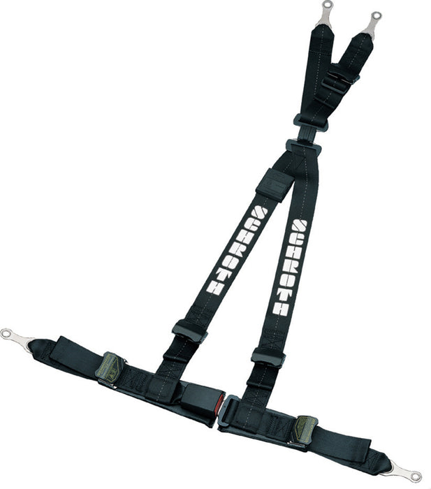 4pt Harness System Ralley Black
