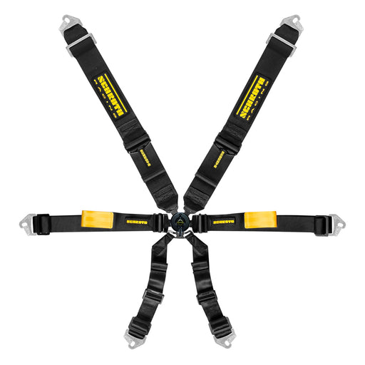 6pt Harness System Enduro Black