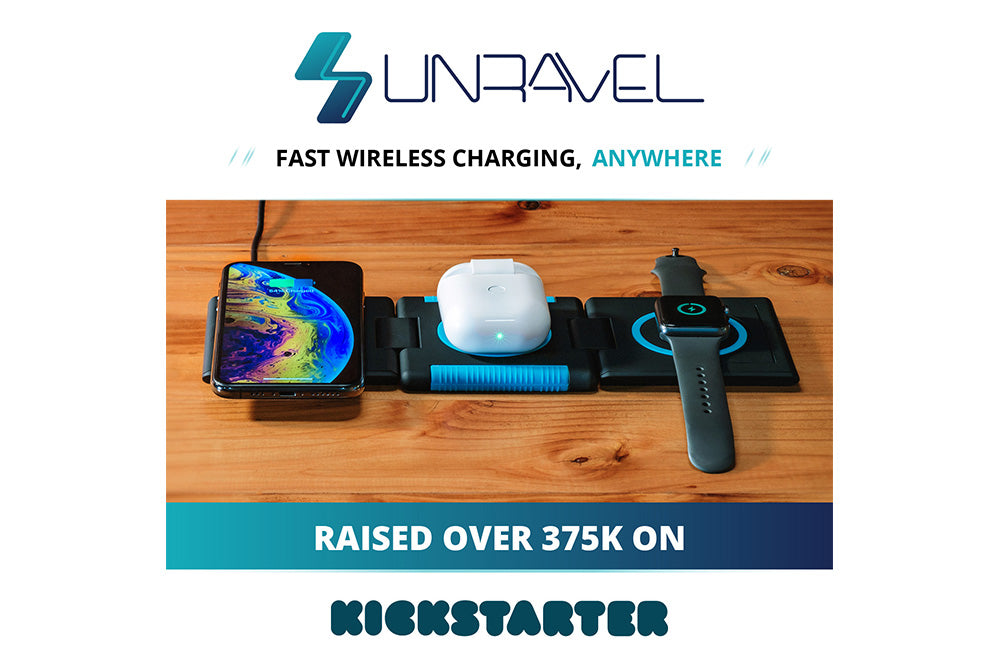 Unravel: Fast Wireless Charging, Anywhere.