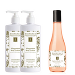 Buy 2 Mangosteen Body Lotions, Get 1 Apricot Body Oil