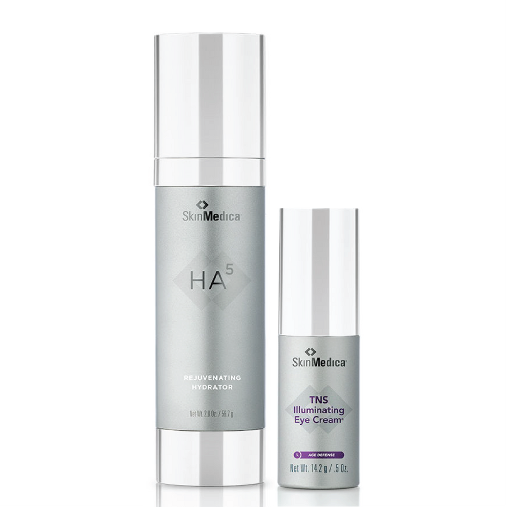 Buy one HA5 Rejuvenating Hydrator and get a free TNS Illuminating Eye Cream