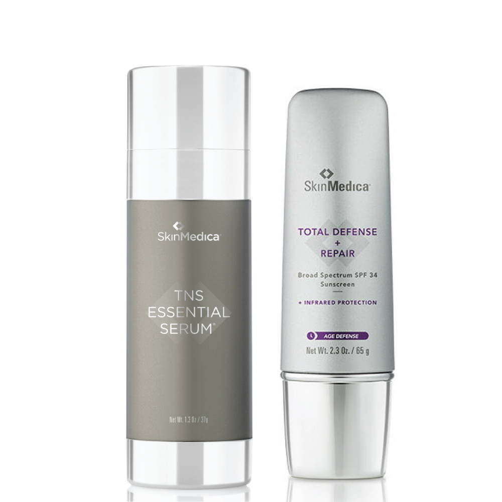 Buy 1 TNS Essential Serum®, Get 1 Total Defense Sunscreen SPF 34