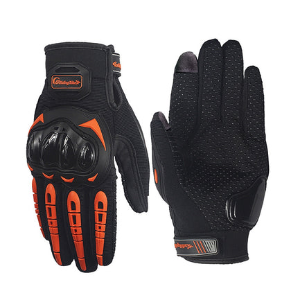Riding Tribe MCS-17 Touch Screen Motorcycle Racing Gloves Anti-skid Breathable