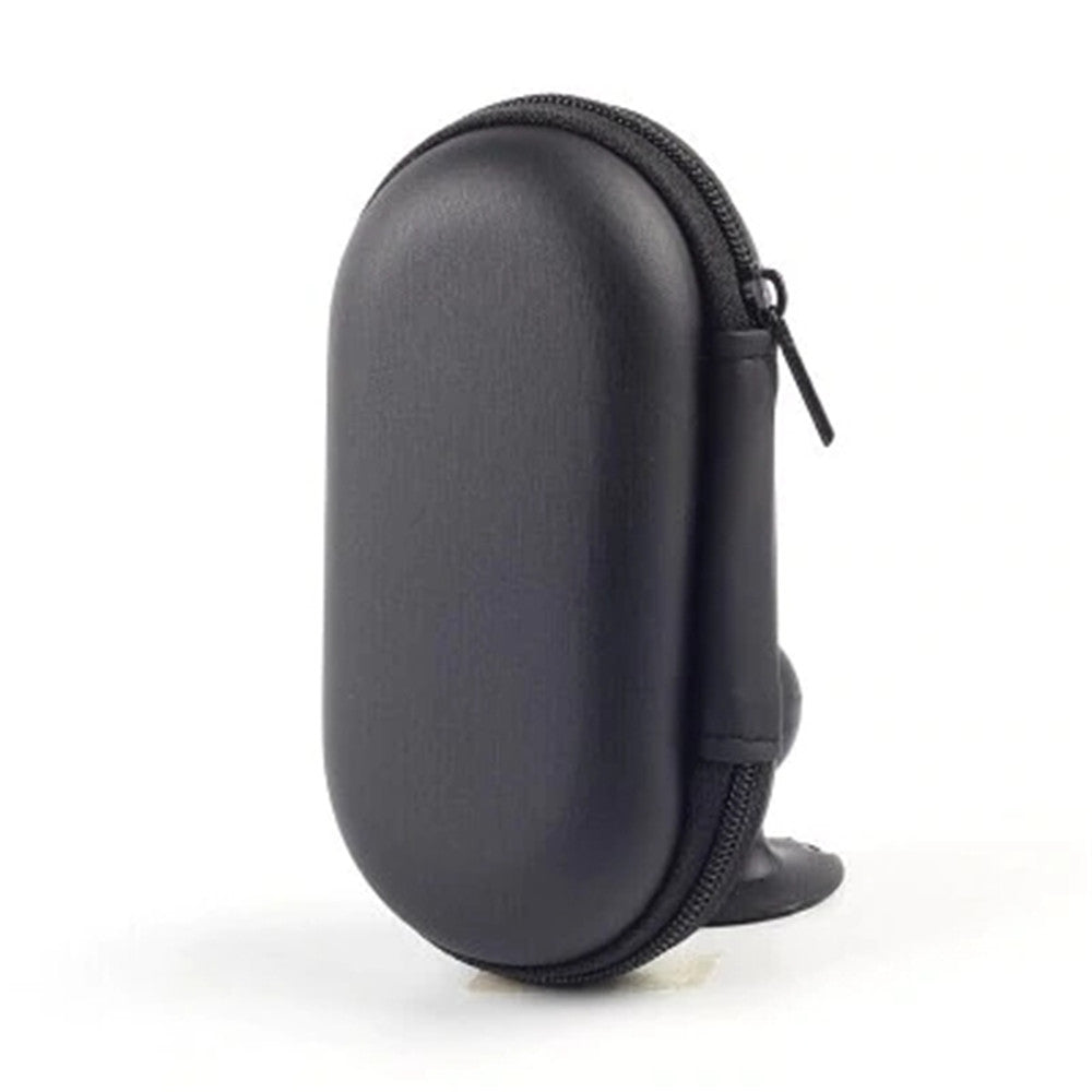 Original KZ PU Leather Earphone Bag Earbuds Storage Box - BLACK 273436201