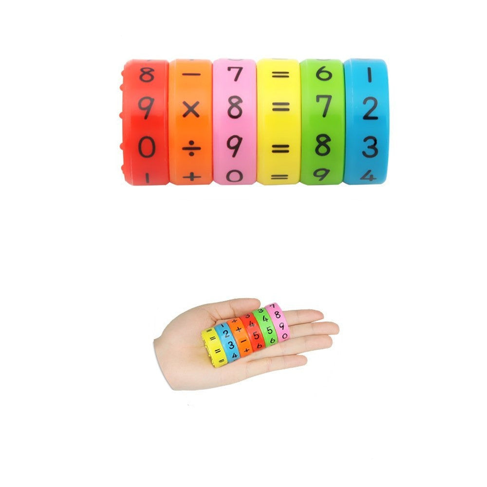 Magnetic Arithmetic Learning Kids Children Toys 6PCS