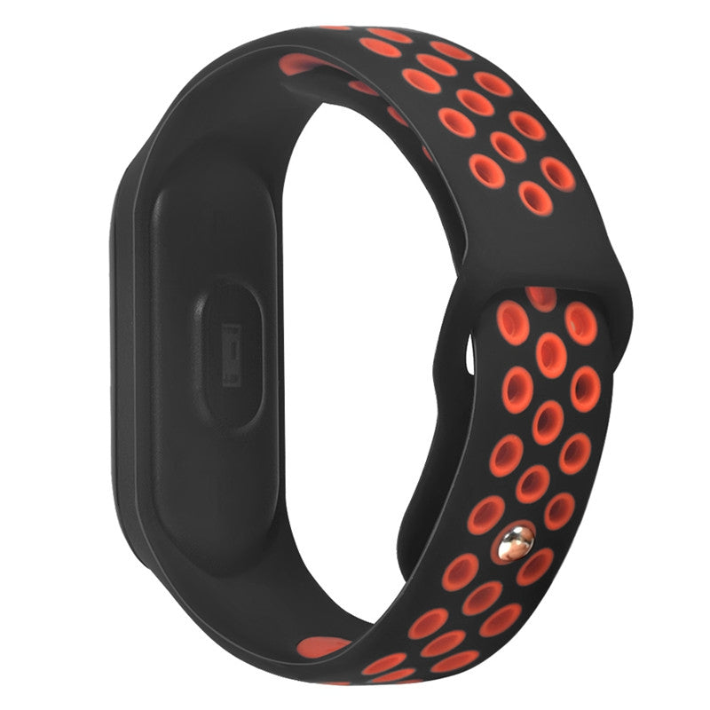 Bracelet Silicone Double Color Replace Wristband for Xiaomi Mi Band 4