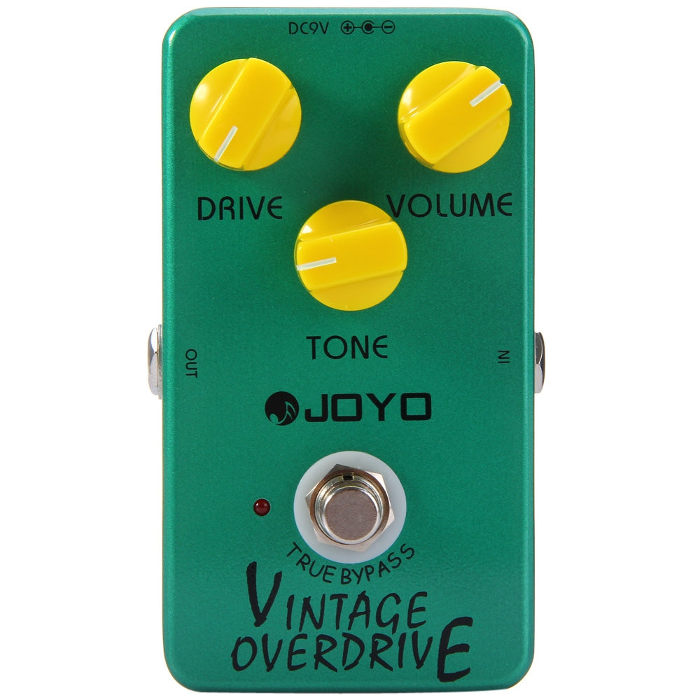 JOYO JF - 01 True Bypass Design Vintage Overdrive Guitar Effect Pedal with RC4588 Chip