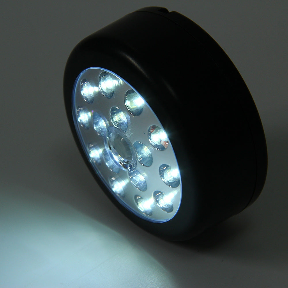 PIR Infrared 15 LED Auto Motion Sensor Detector Wireless Night Light Lamp