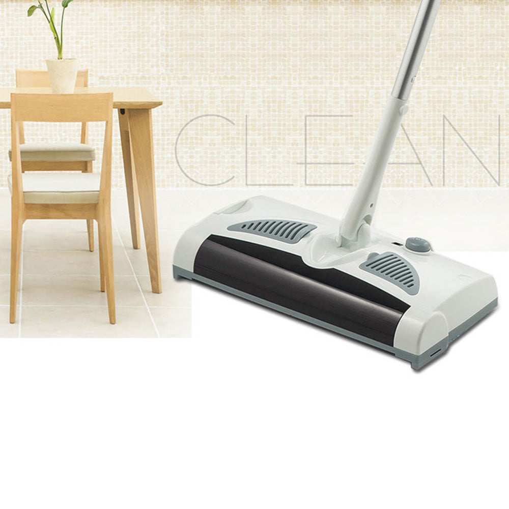 W - S018 2 in 1 Rotatable Cordless Electric Robot Cleaner Sweeper Drag Sweeping Machine