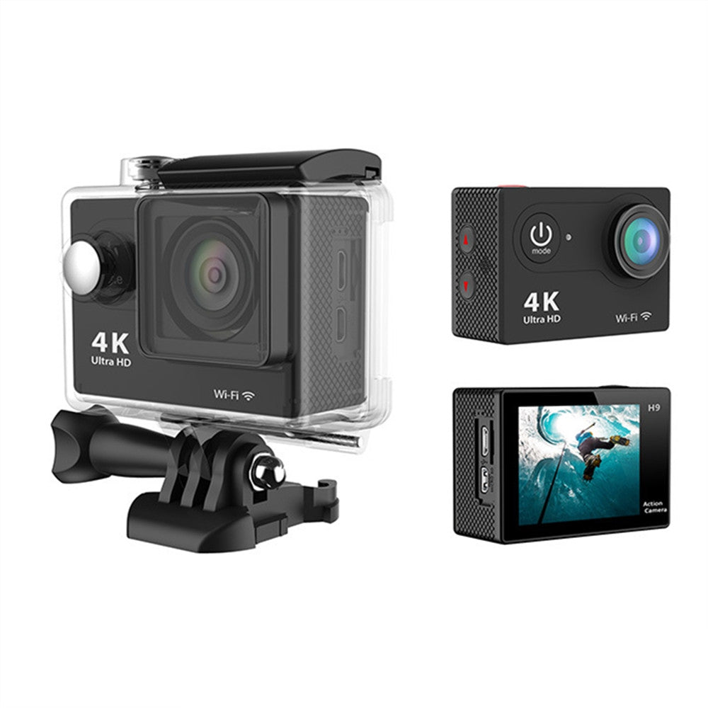 Ultra HD H9 4K WiFi 2.0 Inch Sport Camera Video Camcorder Waterproof