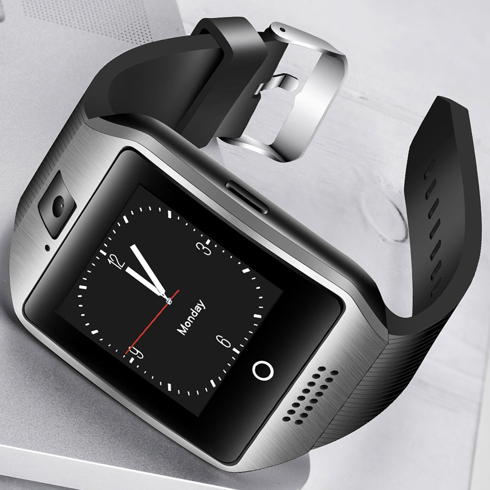 Q18 Bluetooth Smart Watch With Camera Support SIM TF Card Smartwach