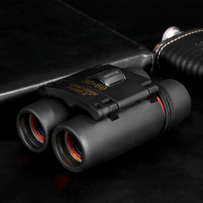 Mini 30 x 60 Twin-Barrel Low Light Night Vision Outdoor Telescope