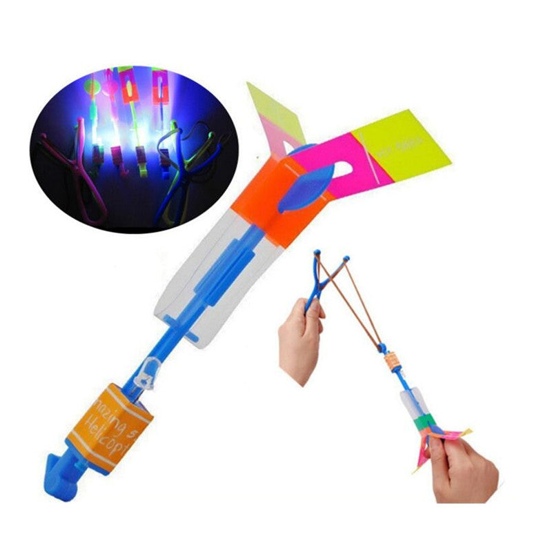LED Arrow Helicopter Flying Toy
