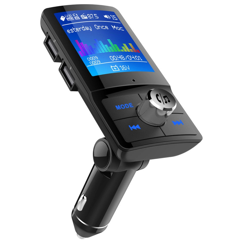 BC45 LCD Bluetooth FM Transmitter Handsfree Car Kit MP3 Player