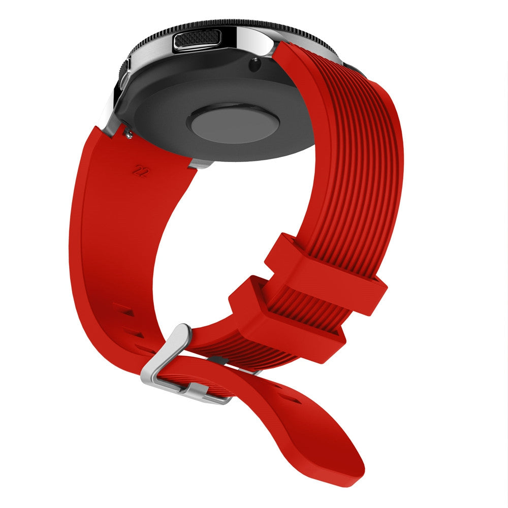 22MM Silicone Watch Strap Band For Samsung Gear S3 Classic / Frontier
