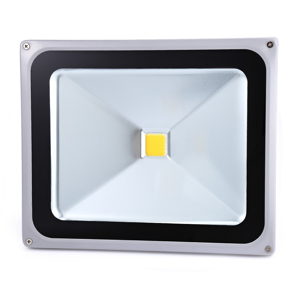 AC 85-265V 50W ( True 35W ) Outdoor LED Flood Lamp Gray Case Bright Slim Spotlight