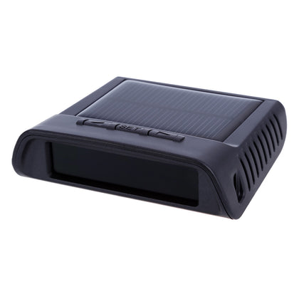 Refurbished TP - 810 Solar Power Supply TPMS Car Tire Pressure Monitoring Intelligent System with LED Display 4 External Sensors