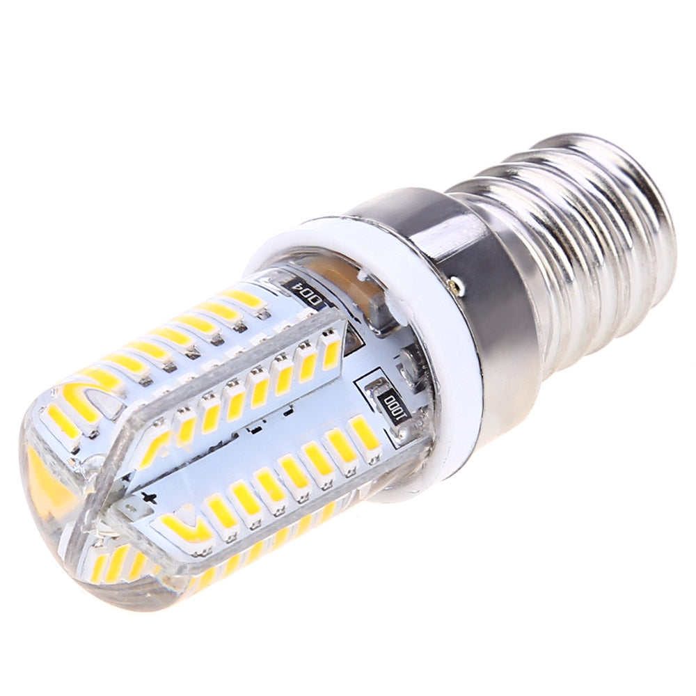Lightme 10PCS AC 220V 3W E14 SMD 3014 LED Corn Bulb with 64 LEDs