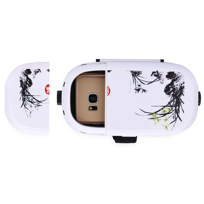 3D Myopia Adjustable Colored Drawing Style Virtual Reality Glasses for Smartphones