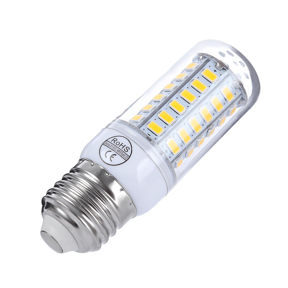 AC 220V E27 5W 450 - 500LM SMD 5730 LED Corn Light with 56 LEDs