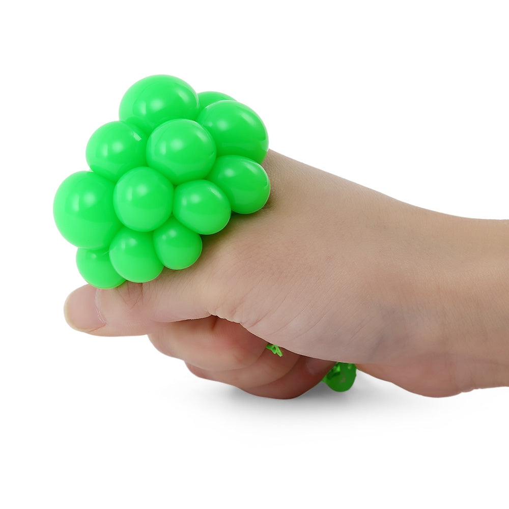 Peculiar Stress Relief Grape Vent Ball Squeezing Toy