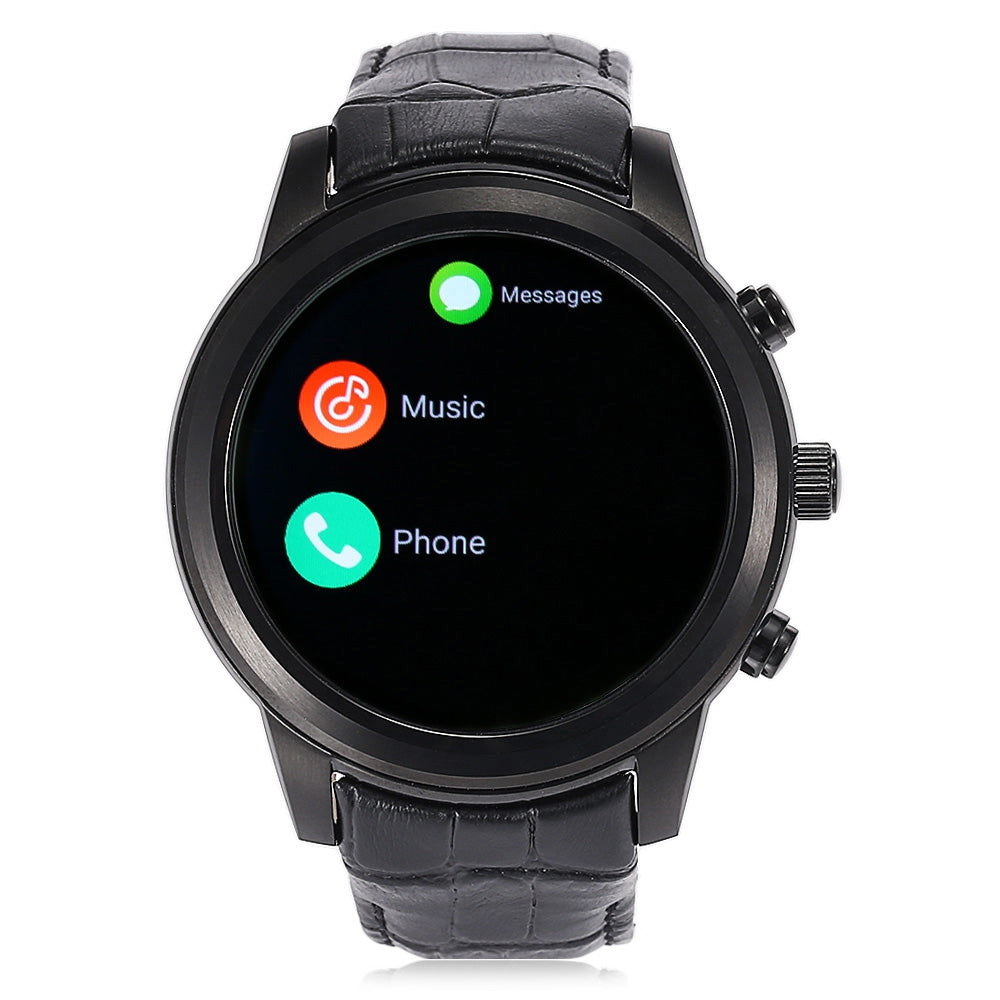 FINOW X5 AIR 3G Smartwatch Phone 1.39 inch Android 5.1 MTK6580 Quad Core 1.3GHz 2GB RAM 16GB ROM GPS Bluetooth 4.0 Pedometer