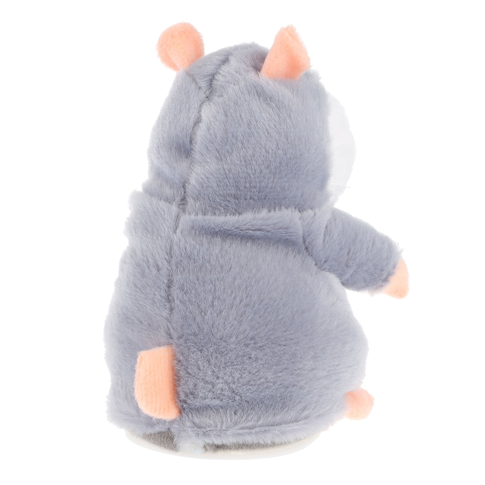 Electric Talking Plush Cartoon Hamster Interesting Kids Toys