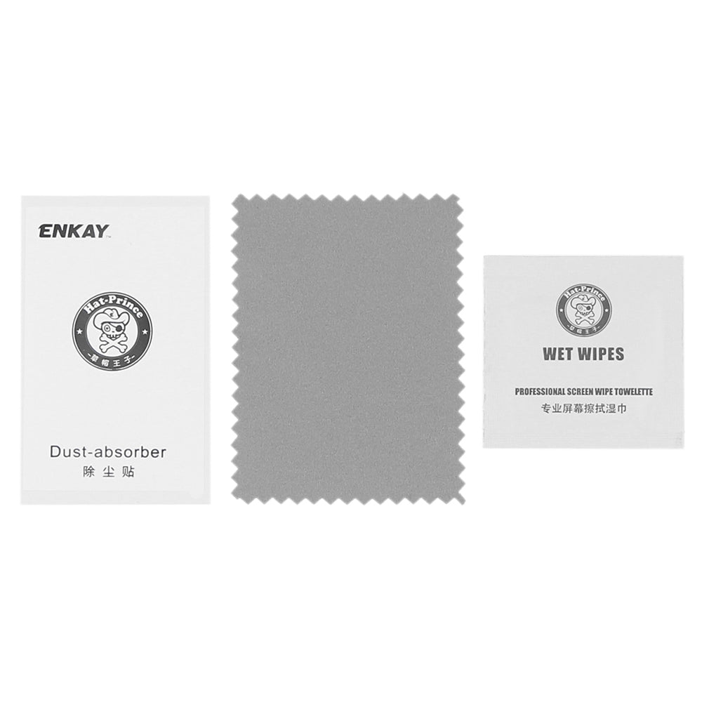 ENKAY Hat - Prince 2.15D Arc Tempered Glass Screen Protector for AMAZFIT Sports Smart Watch